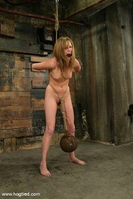 Photo number 5 from Audrey Leigh shot for Hogtied on Kink.com. Featuring Audrey Leigh in hardcore BDSM & Fetish porn.