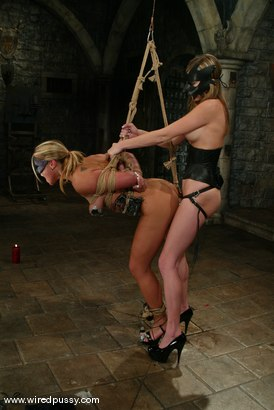 Photo number 4 from Veronika and Audrey Leigh shot for Wired Pussy on Kink.com. Featuring Veronika and Audrey Leigh in hardcore BDSM & Fetish porn.
