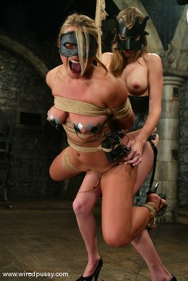 Photo number 5 from Veronika and Audrey Leigh shot for Wired Pussy on Kink.com. Featuring Veronika and Audrey Leigh in hardcore BDSM & Fetish porn.