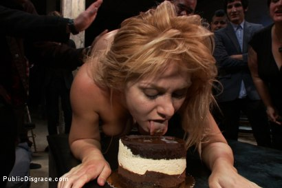 Photo number 14 from Flexible Blonde gets Bound and Fucked for the Crowd shot for Public Disgrace on Kink.com. Featuring Ramon Nomar and Lea Lexis in hardcore BDSM & Fetish porn.
