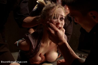 Photo number 2 from Poor Little American Girl Trapped in Mexico FIRST GANGBANG AND DP EVER!!!!!! shot for Bound Gang Bangs on Kink.com. Featuring Ramon Nomar, Karlo Karrera, Toni Ribas, Marco Banderas, Penny Pax and Alex Gonz in hardcore BDSM & Fetish porn.