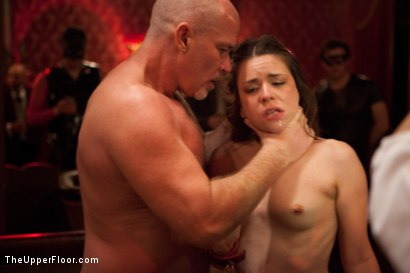 Photo number 19 from Christmas Party: Part One shot for The Upper Floor on Kink.com. Featuring Dylan Ryan, Krysta Kaos, Skin Diamond, Juliette March, Mark Davis, Sparky Sin Claire, The Pope and Maestro Stefanos in hardcore BDSM & Fetish porn.
