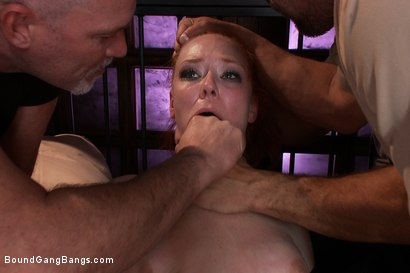 Photo number 3 from Audrey Hollander Returns to the Industry!!!!! Intense DOUBLE ANAL and DOUBLE VAGINAL Penetration!!!! shot for Bound Gang Bangs on Kink.com. Featuring Karlo Karrera, Ramon Nomar, Toni Ribas, Audrey Hollander, Mark Davis and Alan Stafford in hardcore BDSM & Fetish porn.