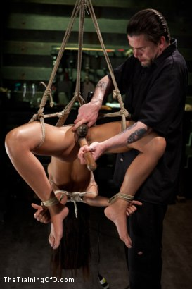 Photo number 17 from 5 Girl Intake  Selecting the perfect slave to train shot for The Training Of O on Kink.com. Featuring Lillianne Lane, Lyla Storm, Kayla Kay, Kristine Kahill, Maestro Stefanos and Arabelle Raphael in hardcore BDSM & Fetish porn.
