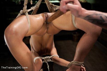 Photo number 16 from 5 Girl Intake<br>Selecting the perfect slave to train shot for The Training Of O on Kink.com. Featuring Lillianne Lane, Lyla Storm, Kayla Kay, Kristine Kahill, Maestro Stefanos and Arabelle Raphael in hardcore BDSM & Fetish porn.