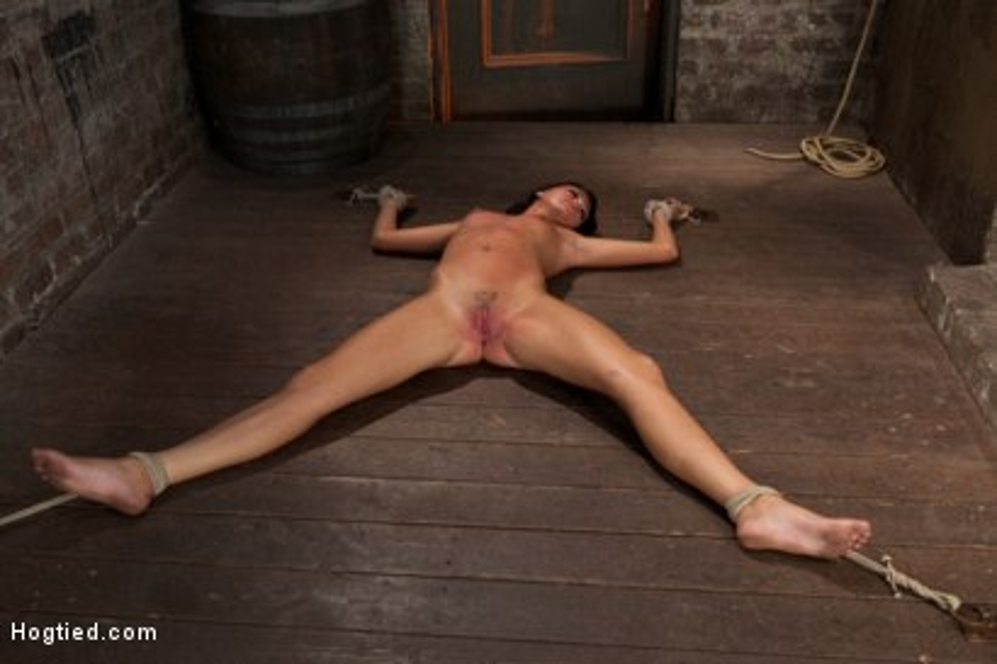 Photo number 11 from Cum Drenched Slut Teased - Flogged - Tickled shot for Hogtied on Kink.com. Featuring Cassandra Nix in hardcore BDSM & Fetish porn.