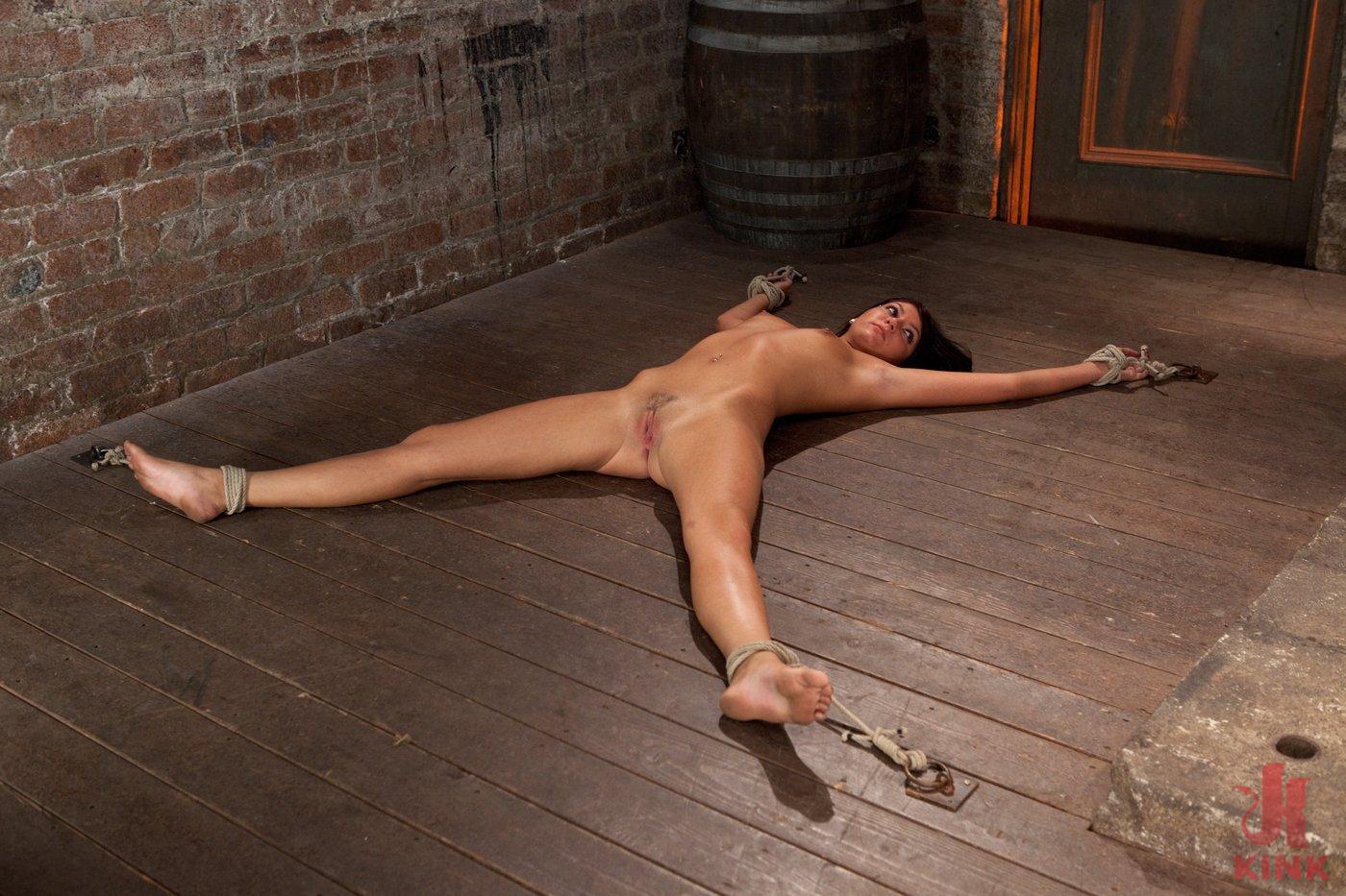 Photo number 3 from Cum Drenched Slut Teased - Flogged - Tickled shot for Hogtied on Kink.com. Featuring Cassandra Nix in hardcore BDSM & Fetish porn.