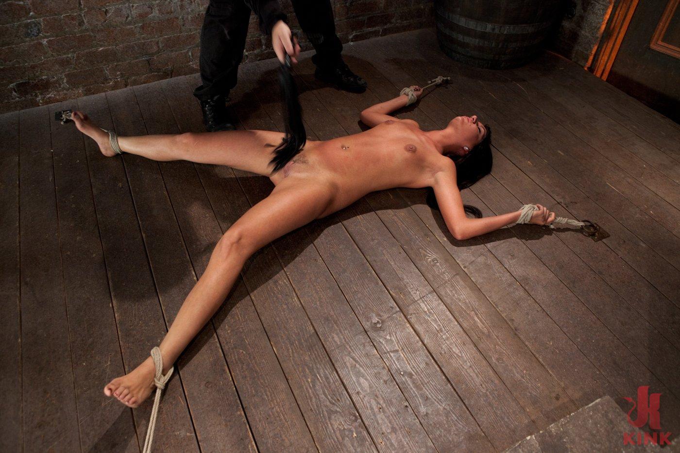 Photo number 6 from Cum Drenched Slut Teased - Flogged - Tickled shot for Hogtied on Kink.com. Featuring Cassandra Nix in hardcore BDSM & Fetish porn.