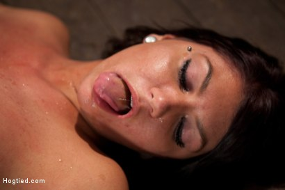 Photo number 13 from Cum Drenched Slut Teased - Flogged - Tickled shot for Hogtied on Kink.com. Featuring Cassandra Nix in hardcore BDSM & Fetish porn.