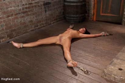 Photo number 3 from Cum Drenched Slut Teased - Flogged - Tickled shot for Hogtied on Kink.com. Featuring Cassandra Nix in hardcore BDSM & Fetish porn.