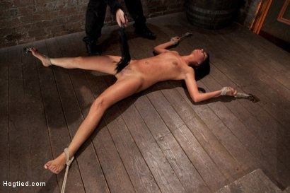 Photo number 6 from Cum Drenched Slut Teased - Flogged - Tickled shot for Hogtied on Kink.com. Featuring Cassandra Nix in hardcore BDSM & Fetish porn.
