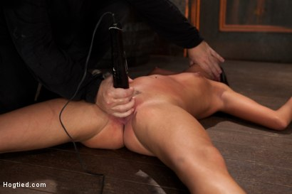 Photo number 8 from Cum Drenched Slut Teased - Flogged - Tickled shot for Hogtied on Kink.com. Featuring Cassandra Nix in hardcore BDSM & Fetish porn.