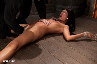 Photo number 10 from Cum Drenched Slut Teased - Flogged - Tickled shot for Hogtied on Kink.com. Featuring Cassandra Nix in hardcore BDSM & Fetish porn.