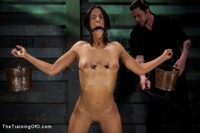 Photo number 2 from Slave Training Lyla Storm<br>Day 2-Endurance Testing shot for The Training Of O on Kink.com. Featuring Lyla Storm in hardcore BDSM & Fetish porn.