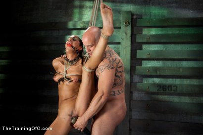 Photo number 7 from Slave Training of Lyla Storm  Day 3-Sexual Abilities shot for The Training Of O on Kink.com. Featuring Lyla Storm and Derrick Pierce in hardcore BDSM & Fetish porn.