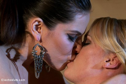 Photo number 5 from Introduction to Electrosex shot for Electro Sluts on Kink.com. Featuring Hydii May and Bobbi Starr in hardcore BDSM & Fetish porn.
