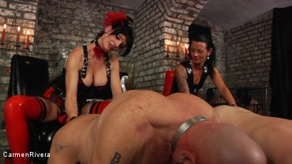 Photo number 5 from Dildo Queens shot for Carmen Rivera on Kink.com. Featuring  in hardcore BDSM & Fetish porn.