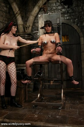 Photo number 10 from Maya and Selina Minx shot for Wired Pussy on Kink.com. Featuring Maya and Selina Minx in hardcore BDSM & Fetish porn.