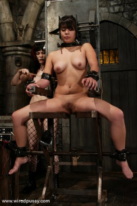 Photo number 14 from Maya and Selina Minx shot for Wired Pussy on Kink.com. Featuring Maya and Selina Minx in hardcore BDSM & Fetish porn.
