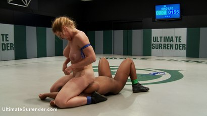 Photo number 6 from US welcomes a new rookie with great potential. 18yr Yasmine is strong, has huge tits & some skill! shot for Ultimate Surrender on Kink.com. Featuring Yasmine Loven and Dee Williams in hardcore BDSM & Fetish porn.
