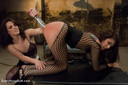Photo number 2 from Pretty Mexican Girl gets her Asshole Stuffed while being Dominated! shot for Everything Butt on Kink.com. Featuring Bobbi Starr, Mark Davis and Eva Fenix in hardcore BDSM & Fetish porn.