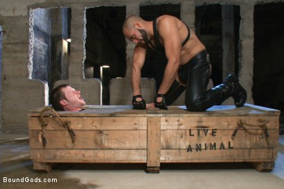 Photo number 1 from To the Limit shot for Bound Gods on Kink.com. Featuring Brian Bonds and Leo Forte in hardcore BDSM & Fetish porn.