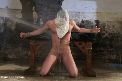 Photo number 13 from To the Limit shot for Bound Gods on Kink.com. Featuring Brian Bonds and Leo Forte in hardcore BDSM & Fetish porn.
