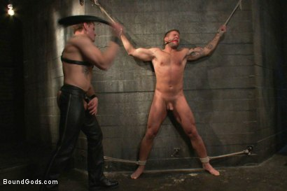 Photo number 7 from Bondage Revenge shot for Bound Gods on Kink.com. Featuring Colby Jansen and Trent Diesel in hardcore BDSM & Fetish porn.