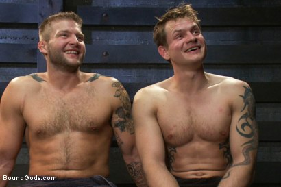 Photo number 15 from Bondage Revenge shot for Bound Gods on Kink.com. Featuring Colby Jansen and Trent Diesel in hardcore BDSM & Fetish porn.