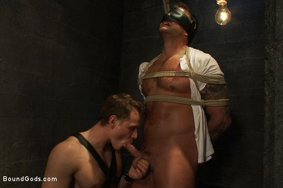 Photo number 1 from Bondage Revenge shot for Bound Gods on Kink.com. Featuring Colby Jansen and Trent Diesel in hardcore BDSM & Fetish porn.
