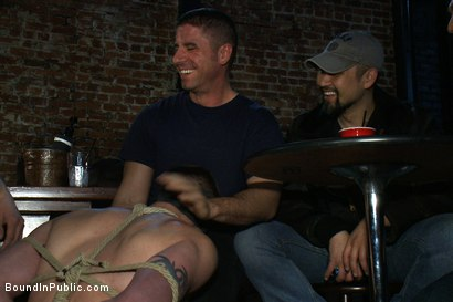 Photo number 2 from The Crawl of Shame shot for Bound in Public on Kink.com. Featuring Mike Martin and Kieron Ryan in hardcore BDSM & Fetish porn.