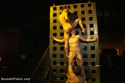 Photo number 10 from The Crawl of Shame shot for Bound in Public on Kink.com. Featuring Mike Martin and Kieron Ryan in hardcore BDSM & Fetish porn.