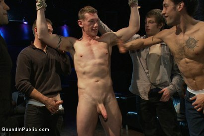 Photo number 6 from The Crawl of Shame shot for Bound in Public on Kink.com. Featuring Mike Martin and Kieron Ryan in hardcore BDSM & Fetish porn.
