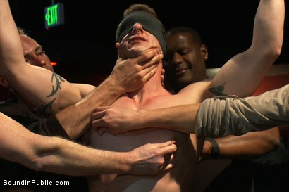 Photo number 5 from The Crawl of Shame shot for Bound in Public on Kink.com. Featuring Mike Martin and Kieron Ryan in hardcore BDSM & Fetish porn.