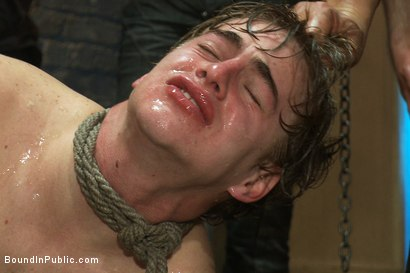 Photo number 11 from Sex in The Slaughter House shot for Bound in Public on Kink.com. Featuring Spencer Reed, Noah Brooks and Brian Bonds in hardcore BDSM & Fetish porn.