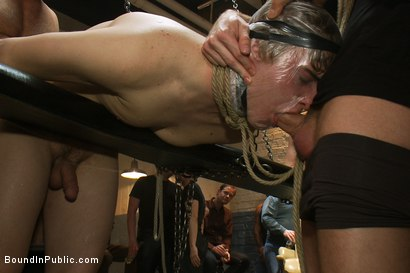 Photo number 3 from Sex in The Slaughter House shot for Bound in Public on Kink.com. Featuring Spencer Reed, Noah Brooks and Brian Bonds in hardcore BDSM & Fetish porn.