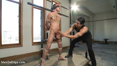 Photo number 3 from Alex Andrews - Straight Stud shot for Men On Edge on Kink.com. Featuring Alex Andrews in hardcore BDSM & Fetish porn.