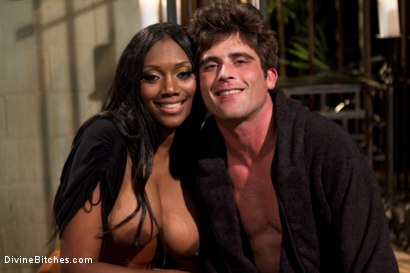 Photo number 8 from Worship Her Greatness! shot for Divine Bitches on Kink.com. Featuring Nyomi Banxxx and Lance Hart in hardcore BDSM & Fetish porn.