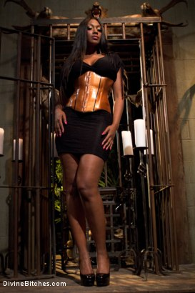 Photo number 10 from Worship Her Greatness! shot for Divine Bitches on Kink.com. Featuring Nyomi Banxxx and Lance Hart in hardcore BDSM & Fetish porn.