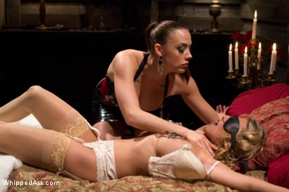 Photo number 2 from Chanel Preston dommes on Whipped Ass for the FIRST TIME! shot for Whipped Ass on Kink.com. Featuring Charisma Cappelli and Chanel Preston in hardcore BDSM & Fetish porn.