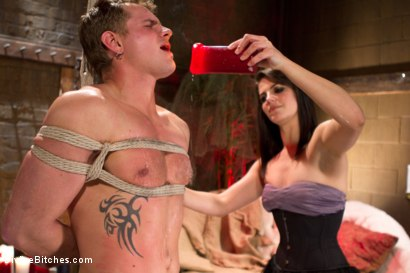 Photo number 3 from Fire, Ice and Electricity shot for Divine Bitches on Kink.com. Featuring Trent Diesel and Bobbi Starr in hardcore BDSM & Fetish porn.