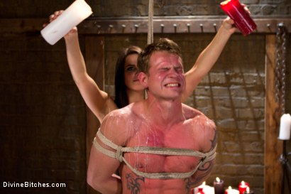Photo number 5 from Fire, Ice and Electricity shot for Divine Bitches on Kink.com. Featuring Trent Diesel and Bobbi Starr in hardcore BDSM & Fetish porn.