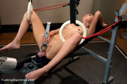 Photo number 14 from 20 yr old Pussy From Heaven: She squirts, She Swallows the Machine Cocks shot for Fucking Machines on Kink.com. Featuring Riley Reid in hardcore BDSM & Fetish porn.