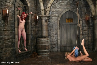 Photo number 2 from Dana DeArmond and Cassie shot for Hogtied on Kink.com. Featuring Cassie and Dana DeArmond in hardcore BDSM & Fetish porn.