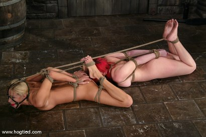 Photo number 14 from Dana DeArmond and Cassie shot for Hogtied on Kink.com. Featuring Cassie and Dana DeArmond in hardcore BDSM & Fetish porn.