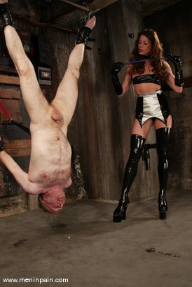 Photo number 2 from Kym Wilde and Robert Alan shot for Men In Pain on Kink.com. Featuring Kym Wilde and Robert Alan in hardcore BDSM & Fetish porn.