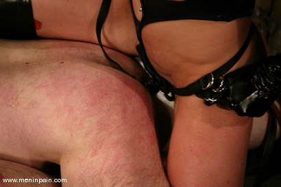 Photo number 4 from Kym Wilde and Robert Alan shot for Men In Pain on Kink.com. Featuring Kym Wilde and Robert Alan in hardcore BDSM & Fetish porn.