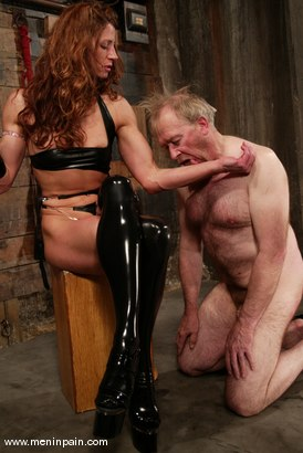 Photo number 5 from Kym Wilde and Robert Alan shot for Men In Pain on Kink.com. Featuring Kym Wilde and Robert Alan in hardcore BDSM & Fetish porn.