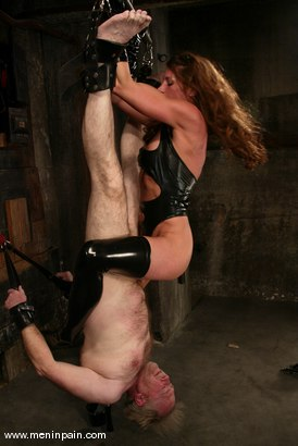 Photo number 6 from Kym Wilde and Robert Alan shot for Men In Pain on Kink.com. Featuring Kym Wilde and Robert Alan in hardcore BDSM & Fetish porn.