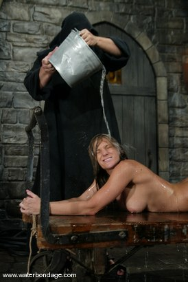 Photo number 8 from Sgt. Major and Jackie Moore shot for Water Bondage on Kink.com. Featuring Jackie Moore and Sgt. Major in hardcore BDSM & Fetish porn.